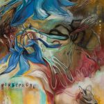 "Persephone o/c 46""x 52""2011"