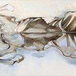 """Sea Horse o/c 58""""x36"""""""