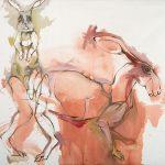 "Wild Hare o/c 46"" x 44"" 2007"