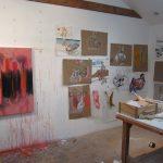 Deborah Thompson studio work 2015