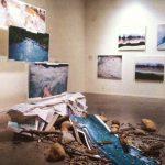 "ROW Julie Castonguay ""Glacier Creek""  Bouk Elzinga paintings"