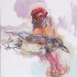 Birdman oil on canvas 2010